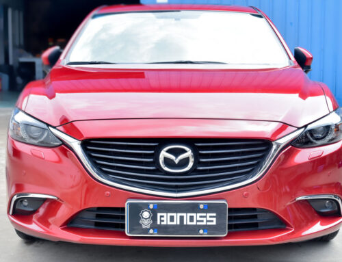 BONOSS Forged Active Cooling Wheel Spacers 20mm+20mm for Mazda 6/Atenza