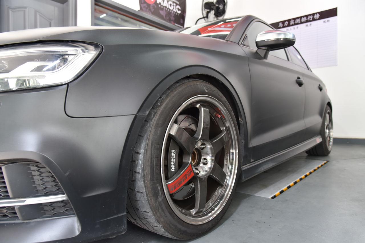 BONOSS-Forged-Titanium-Wheel-Titanium Stud-Conversion-for-Audi-S3-8V