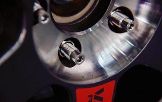 BONOSS Forged Titanium Exposed Wheel Stud Conversion Kit on Audi S3