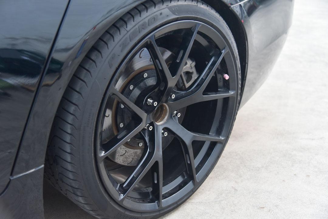 BONOSS Titanium Wheel Conversion on BMW 5 Series F10