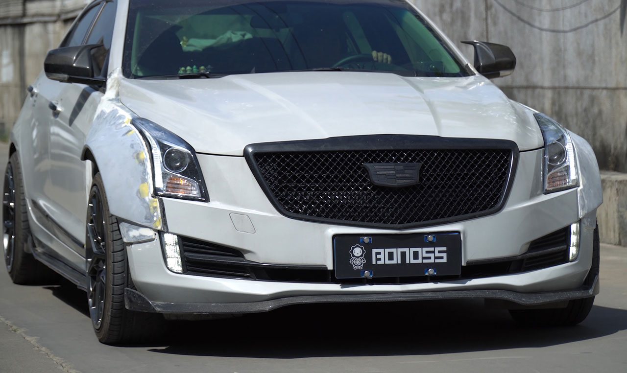 BONOSS Forged Active Cooling Wheel Spacers for Cadillac ATS