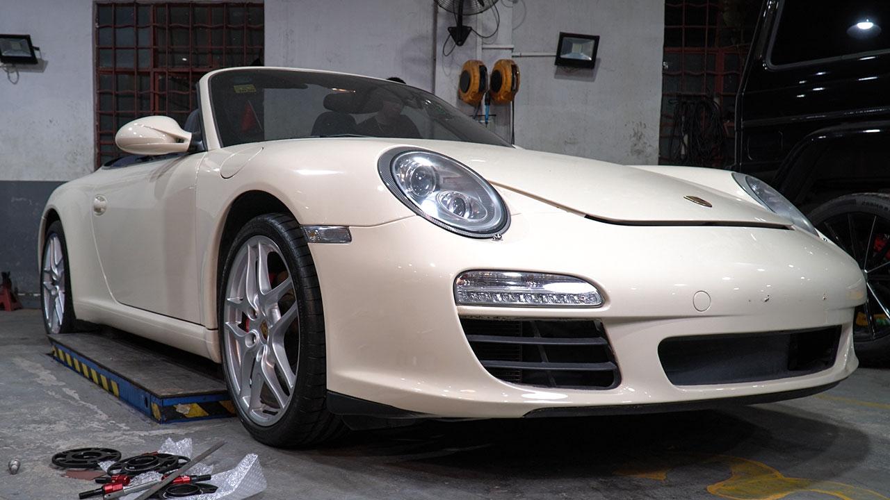 BONOSS Forged Lightweight Plus Wheel Spacers for Porsche 911