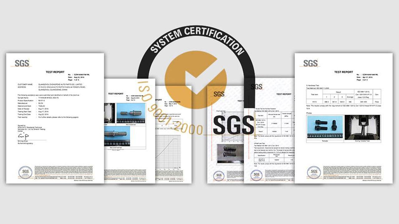 BONOSS-SGS-Certification