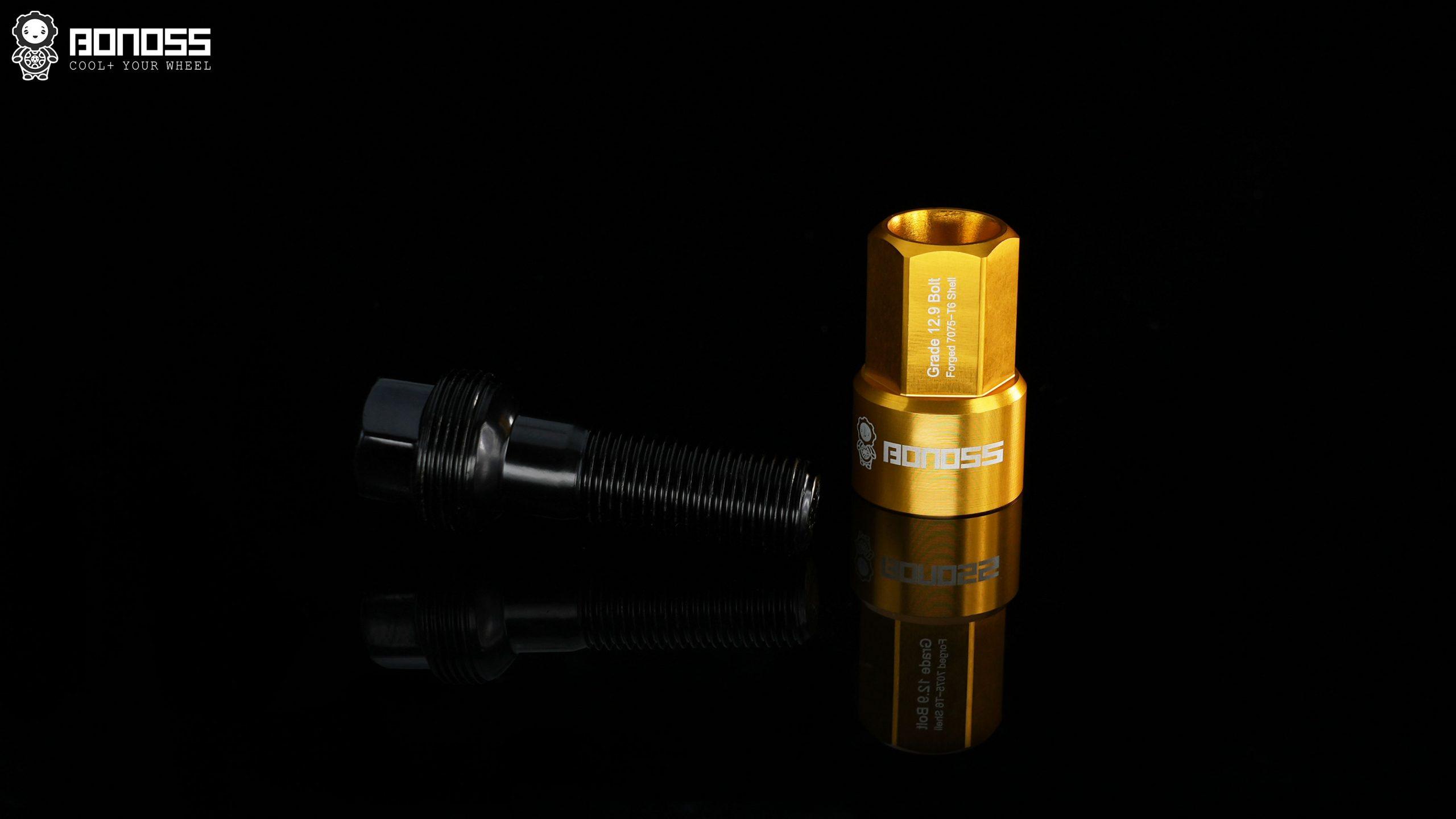 BONOSS Forged 7075-T6 shell type lock bolt kit