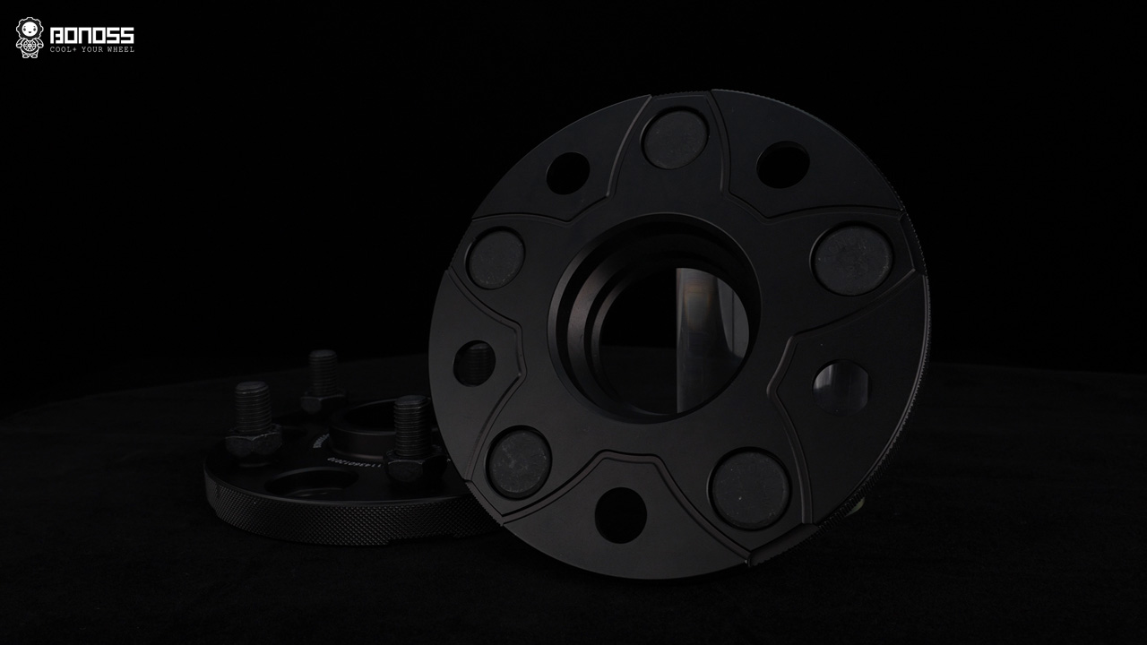 BONOSS Forged Active Cooling Wheel Spacers 15mm (6)