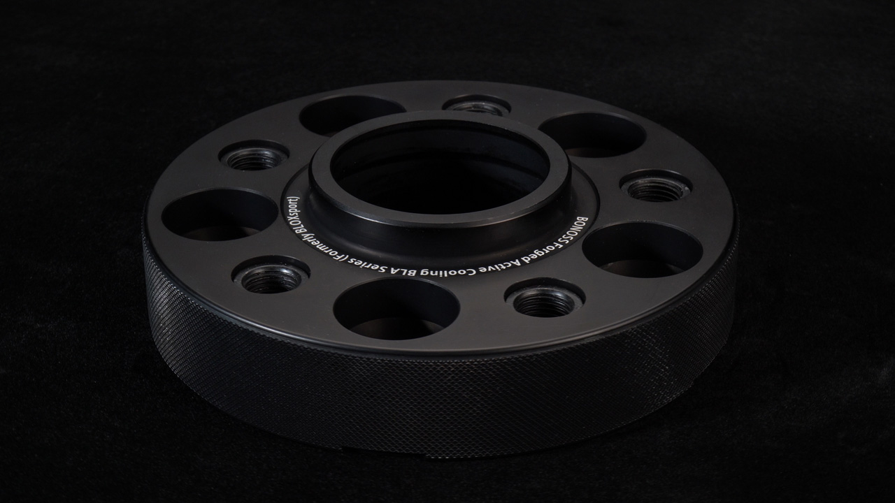 BONOSS Forged Active Cooling Wheel Spacers Adapters-9