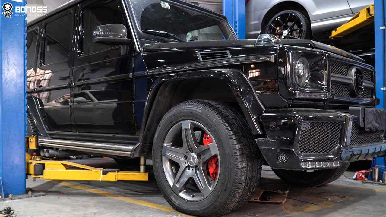 BONOSS-Forged-Active-Cooling-Wheel-Spacers-for-Mercedes-Benz-G500-Install-Steps (1)