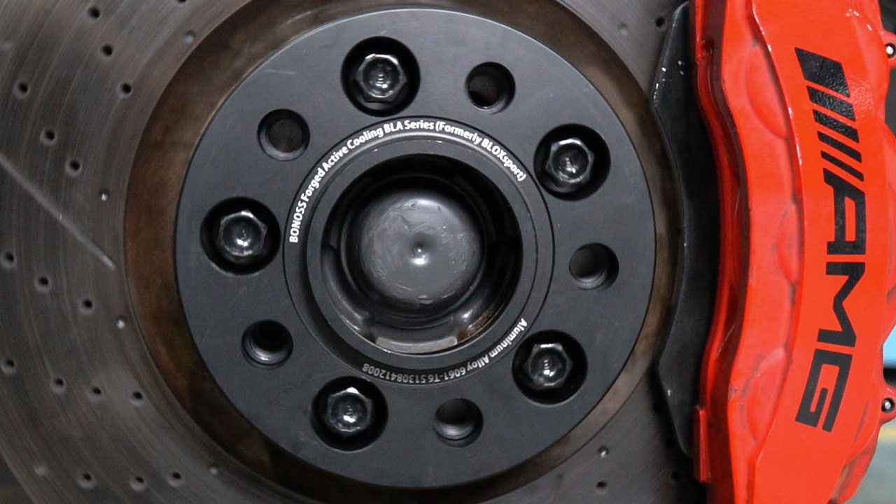BONOSS-Forged-Active-Cooling-Wheel-Spacers-for-Mercedes-Benz-G500-Install-Steps