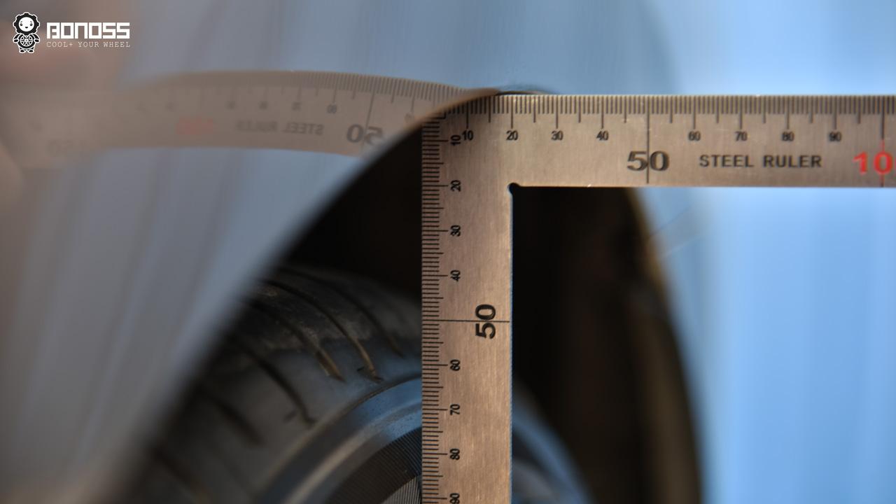 BONOSS Measure the Proper Amount of Wheel Spacers