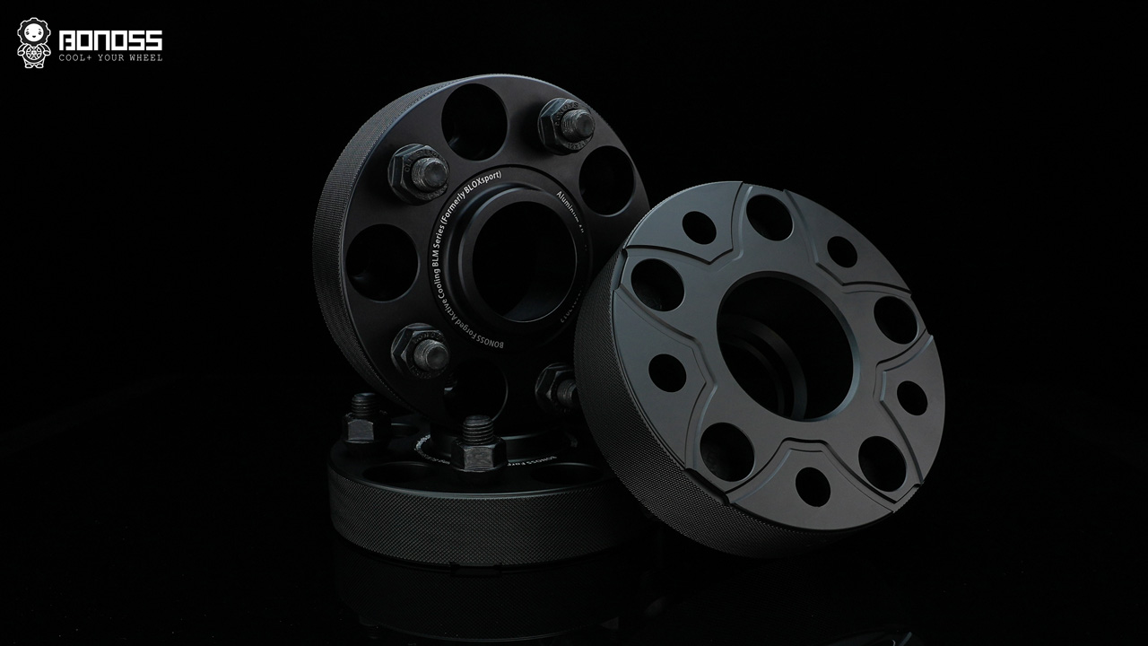 BONOSS Forged Active Cooling Wheel Spacers
