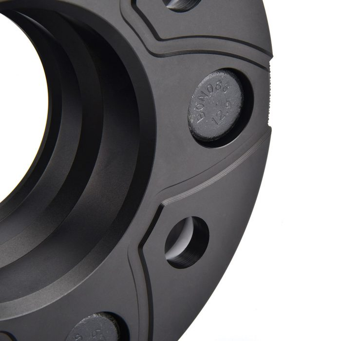 BONOSS Forged Active Cooling AL6061-T6 Wheel Spacers Hubcentric PCD5x127 CB71.6 for Jeep Wrangler JK images (3)