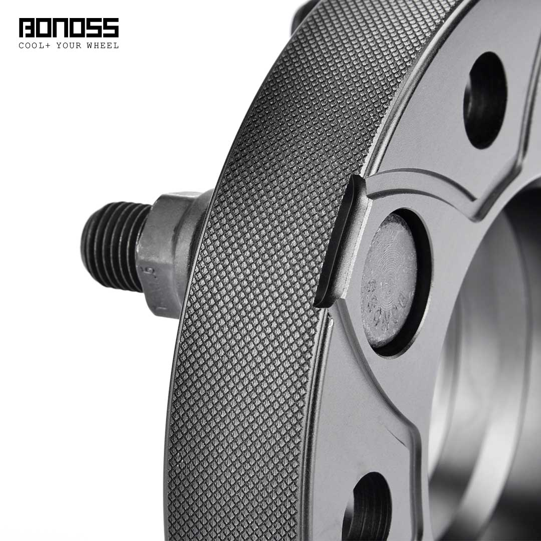BONOSS Forged Active Cooling Hubcentric Wheel Spacers 5 Lugs Wheel Adapters Images (7)