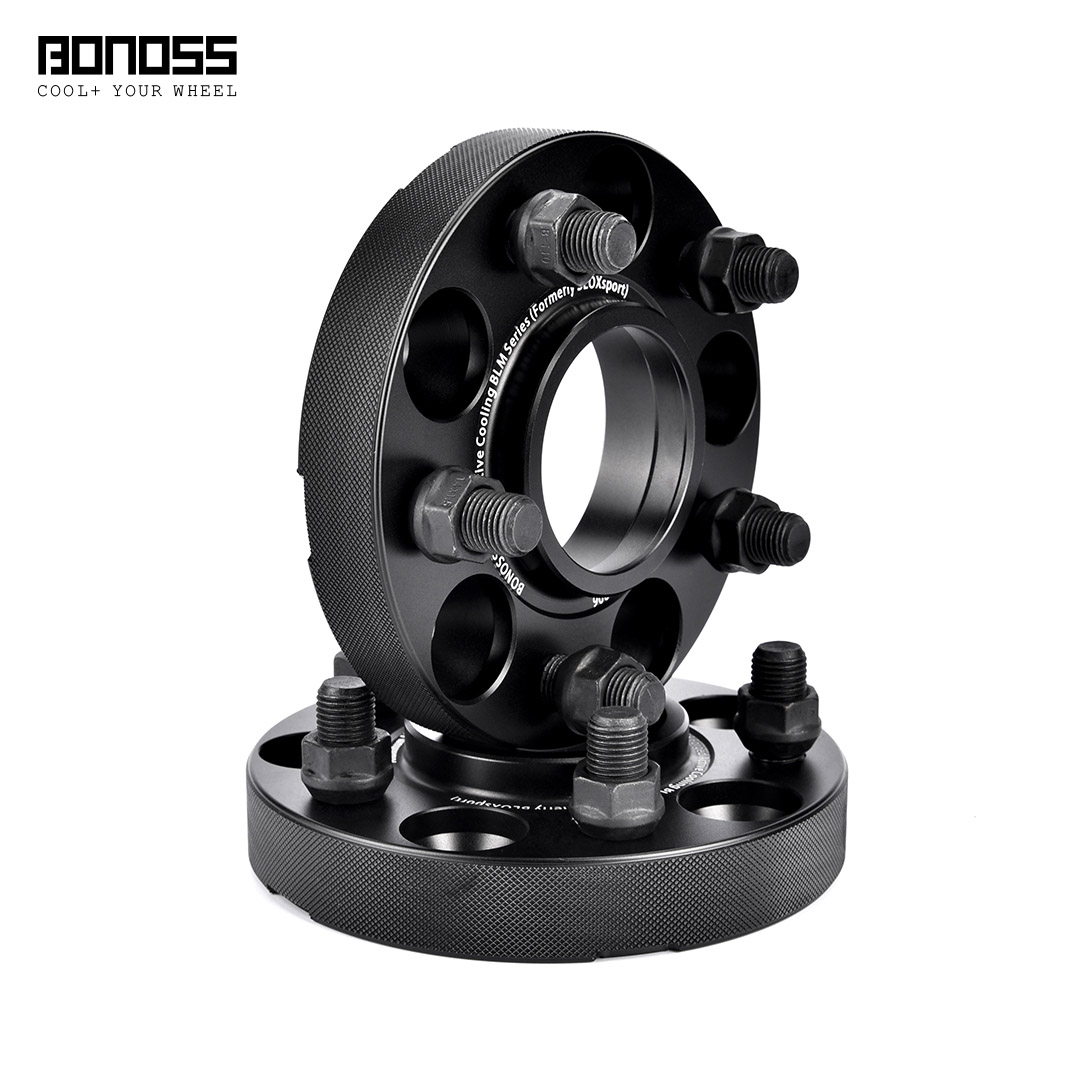 BONOSS Forged Active Cooling Hubcentric Wheel Spacers 5 Lugs Wheel Adapters Images (9)
