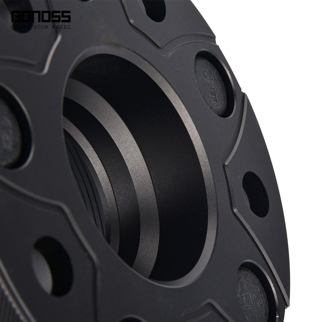 BONOSS Forged Active Cooling Hubcentric Wheel Spacers 5 Lugs Wheel Adapters M12x1.5 Images (5)