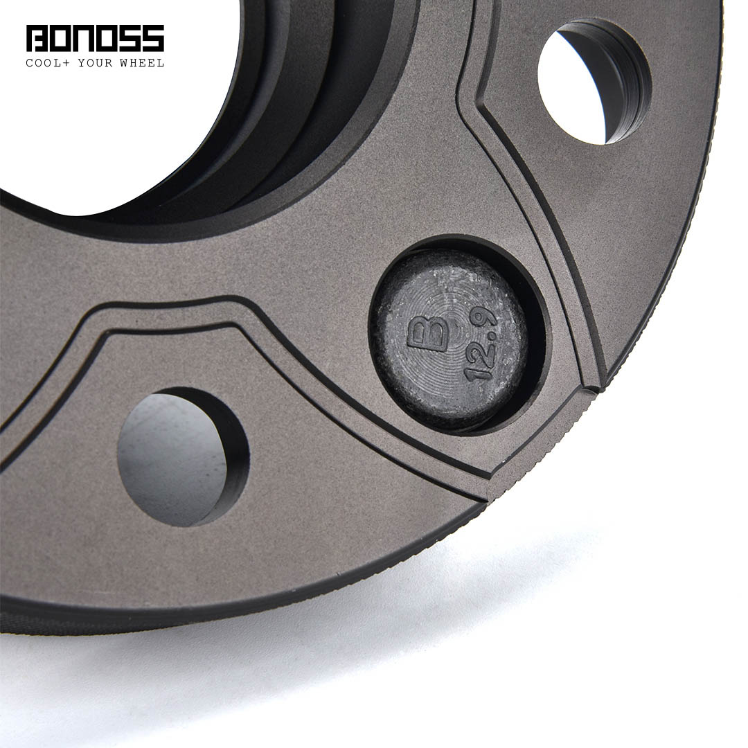 BONOSS Forged Active Cooling Hubcentric Wheel Spacers 5 Lugs Wheel Adapters M12x1.5 Images (6)