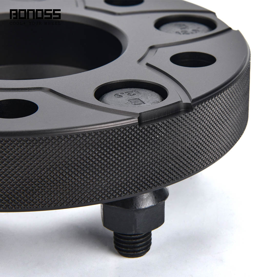 BONOSS Forged Active Cooling Hubcentric Wheel Spacers 5 Lugs Wheel Adapters M12x1.5 Images (7)
