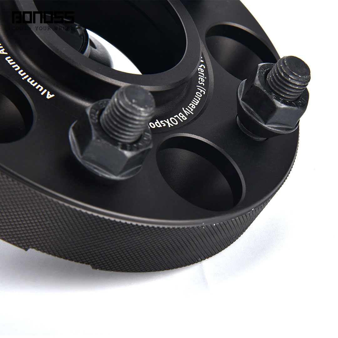BONOSS Forged Active Cooling Hubcentric Wheel Spacers 5 Lugs Wheel Adapters M12x1.5 Images (8)