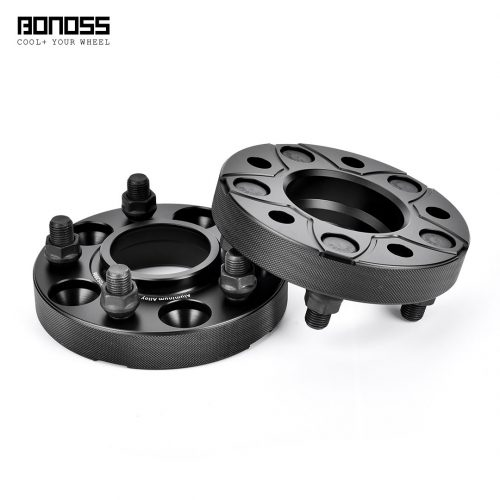 BONOSS Forged Active Cooling Wheel Spacers Hubcentric PCD5x114.3 CB70.5 AL6061-T6 for Ford Mustang (4)