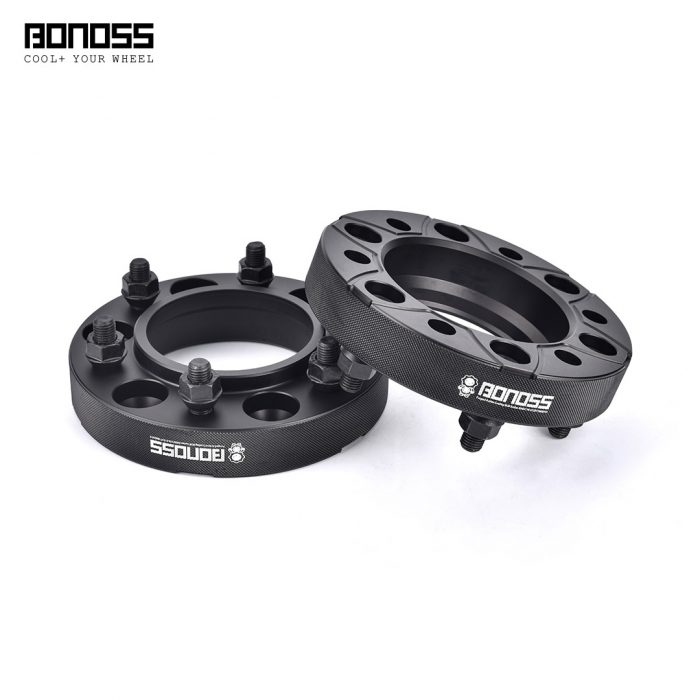BONOSS Forged Active Cooling Wheel Spacers Hubcentric PCD6x139.7 M12x1.5 Wheel Adapters (1)