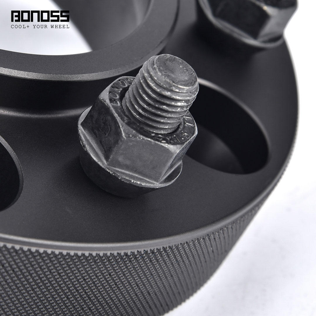 BONOSS Forged Active Cooling Wheel Spacers Hubcentric PCD6x139.7 M12x1.5 Wheel Adapters (3)