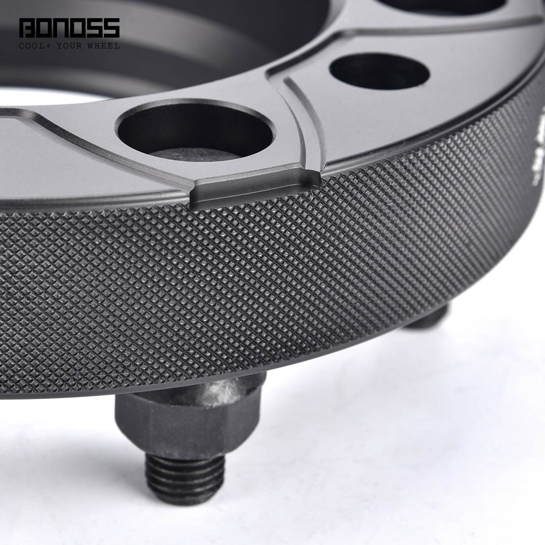 BONOSS Forged Active Cooling Wheel Spacers Hubcentric PCD6x139.7 M12x1.5 Wheel Adapters (4)