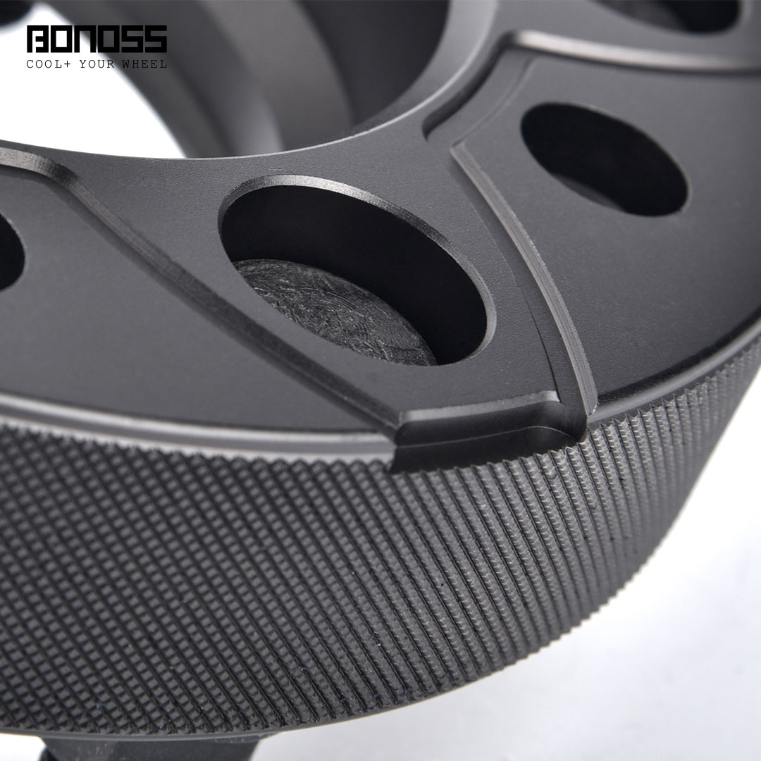 BONOSS Forged Active Cooling Wheel Spacers Hubcentric PCD6x139.7 M12x1.5 Wheel Adapters (5)