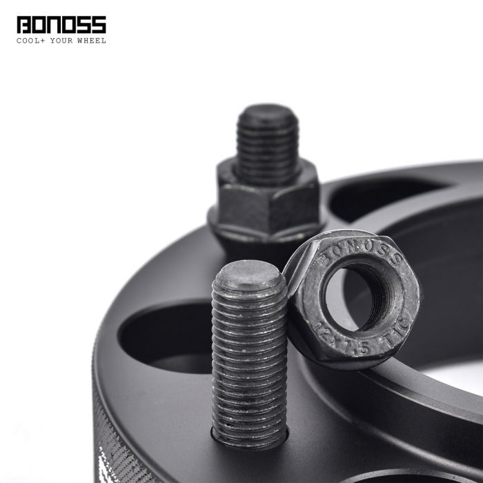 BONOSS Forged Active Cooling Wheel Spacers Hubcentric PCD6x139.7 M12x1.5 Wheel Adapters (6)