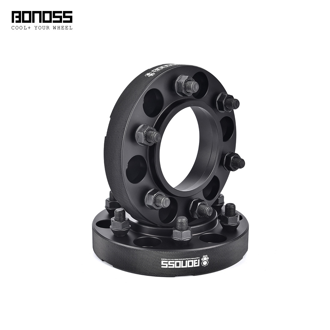 BONOSS Forged Active Cooling Wheel Spacers Hubcentric PCD6x139.7 M12x1.5 Wheel Adapters (7)