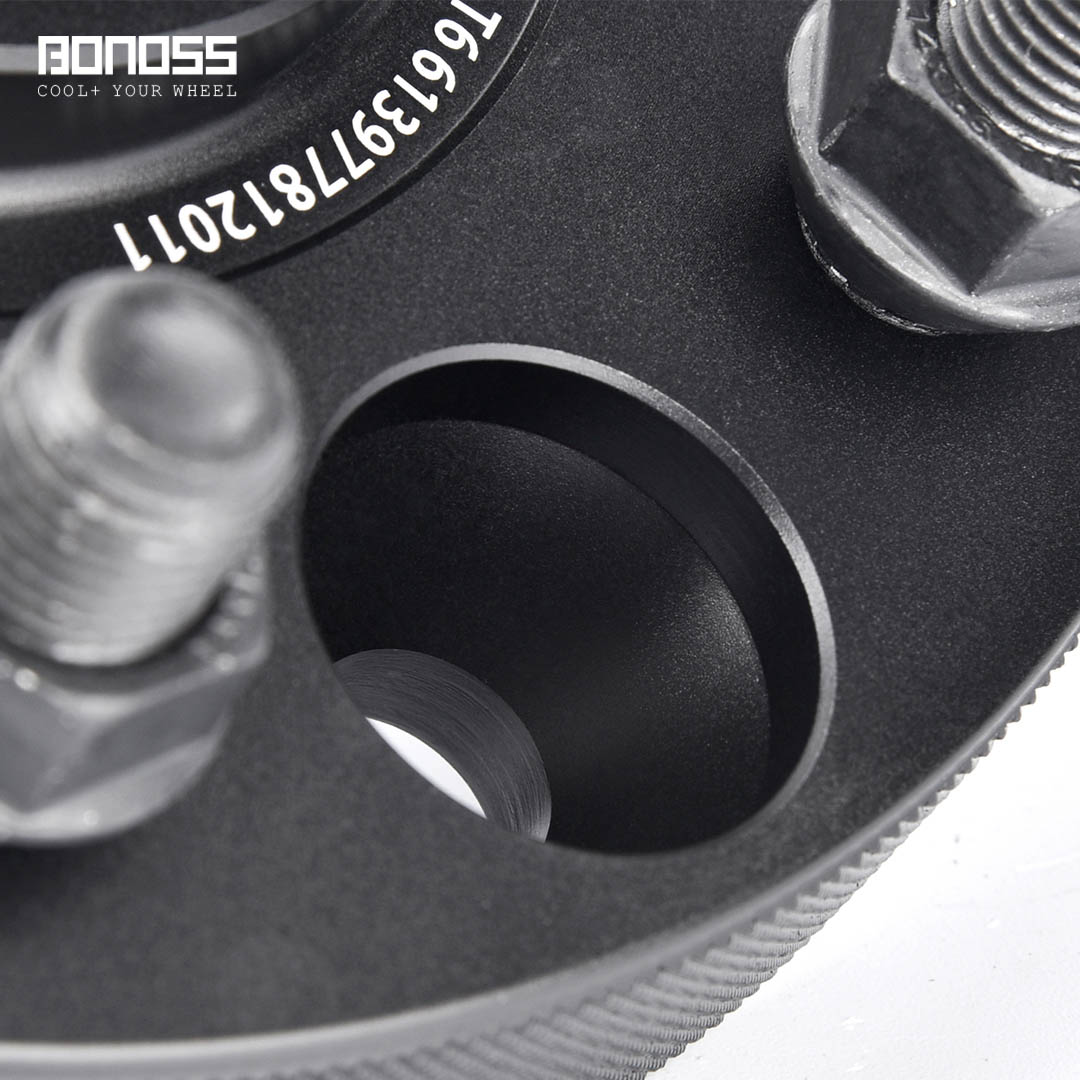 BONOSS Forged Active Cooling Wheel Spacers Hubcentric PCD6x139.7 M14x1.5 Wheel Adapters (3)