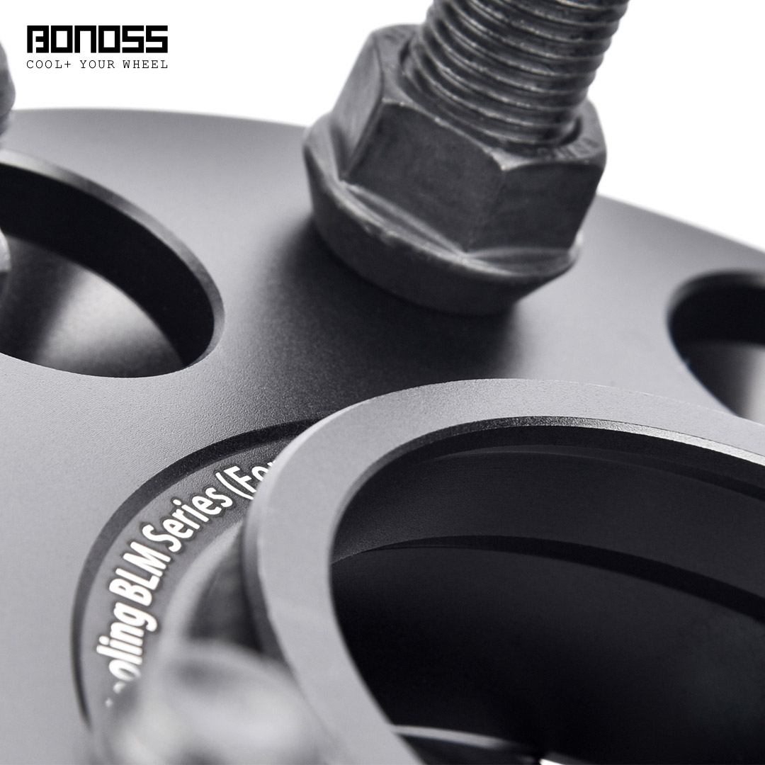 BONOSS Forged Active Cooling Wheel Spacers Hubcentric PCD6x139.7 M14x1.5 Wheel Adapters (4)