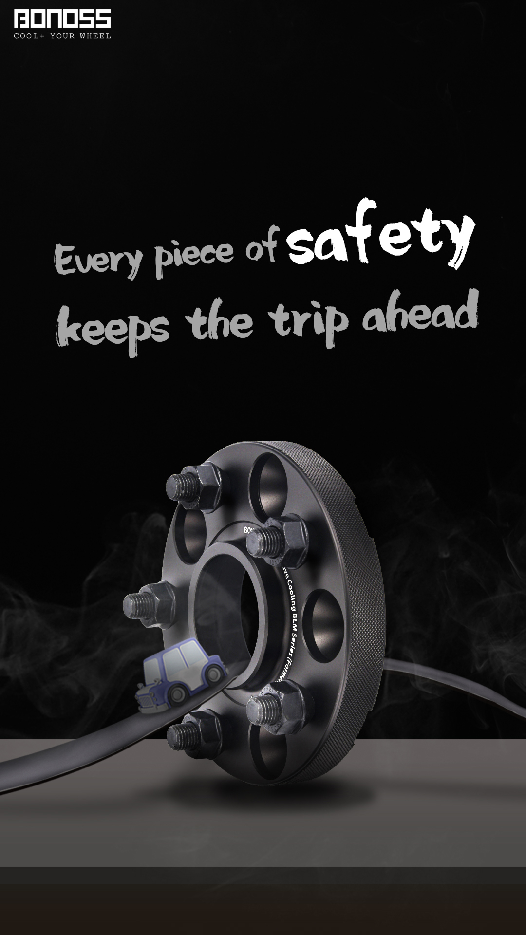 BONOSS-Forged-Active-Cooling-Wheel-Spacers-Safety-Hubcentric