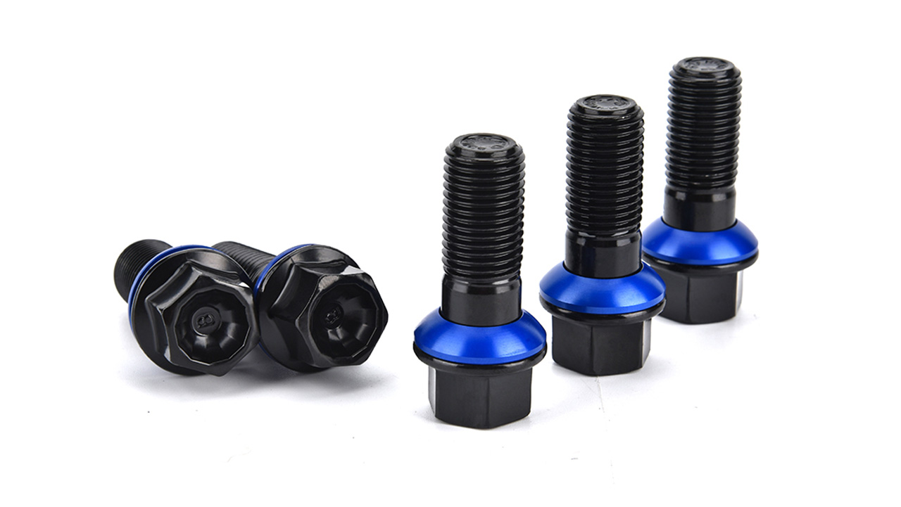 BONOSS Forged Grade 12.9 Lug Wheel Bolts Two-piece Design for Wheel Fitment