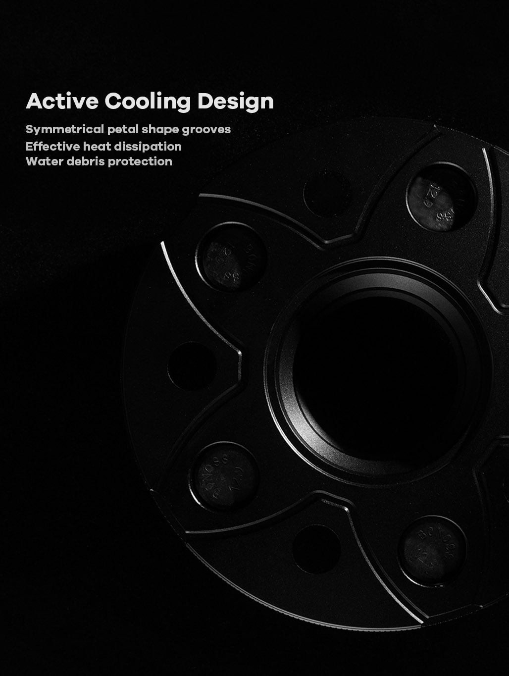 BONOSS-forged-active-cooling-wheel-spacer-Tesla-Model-3-5x114.3-64.1-M14X1.5