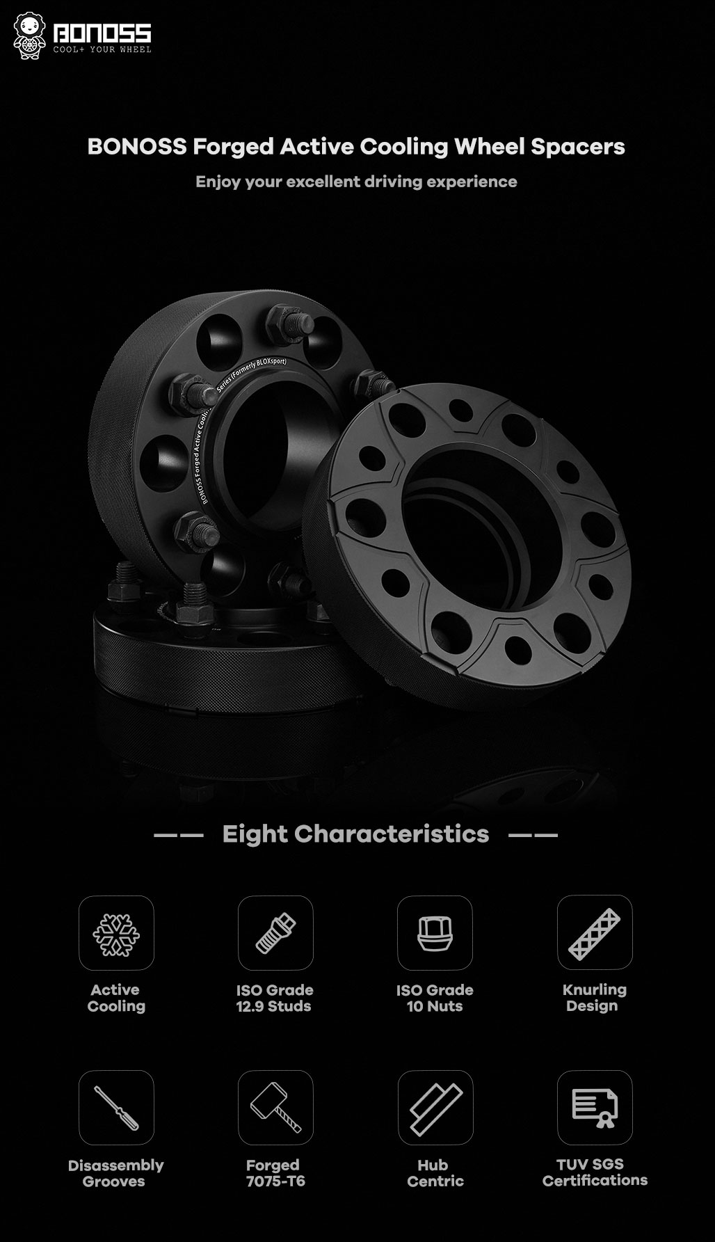 BONOSS-forged-active-cooling-wheel-spacer-for-mazda-bt50-6x139.7-93.1-12x1.5-7075t6-by-grace-1.