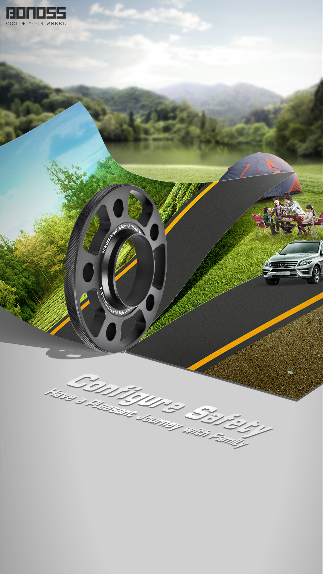 Safe Wheel Spacers Accompany You to Travel with Pleasant