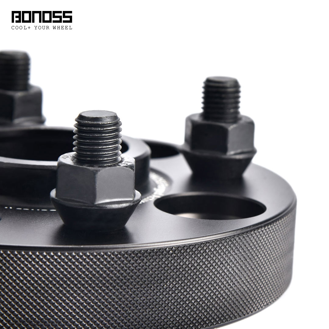 BONOSS Forged Active Cooling Hubcentric Wheel Spacers 4 Lugs Wheel Adapters Main Images (10)