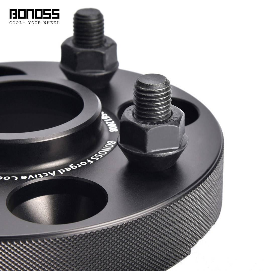 BONOSS Forged Active Cooling Hubcentric Wheel Spacers 4 Lugs Wheel Adapters Main Images (4)