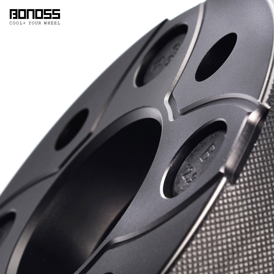 BONOSS Forged Active Cooling Hubcentric Wheel Spacers 4 Lugs Wheel Adapters Main Images (6)