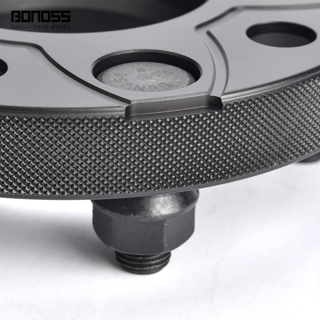 BONOSS Forged Active Cooling Hubcentric Wheel Spacers 5 Lug Wheel Adapters Wheel ET Spacers Main Images (5)