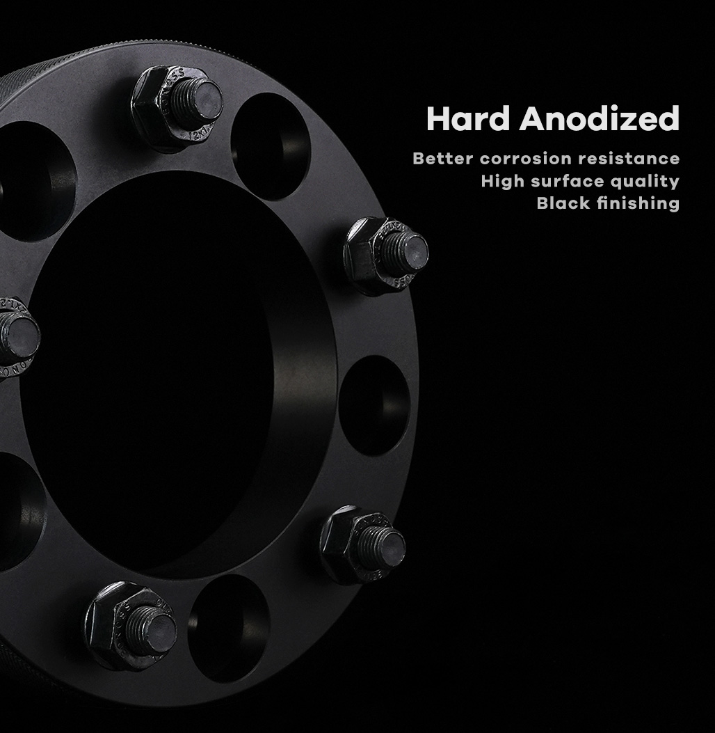 BONOSS Forged Active Cooling Wheel Spacers 5 Lug Wheel Adapters Car Wheel ET Spacers Non-hubcentric (1)