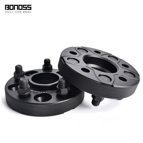 BONOSS Forged Active Cooling Wheel Spacers Hubcentric PCD5x108 CB63.3 AL7075-T6 for Land Rover Range Rover Evoque 2018+ (1)