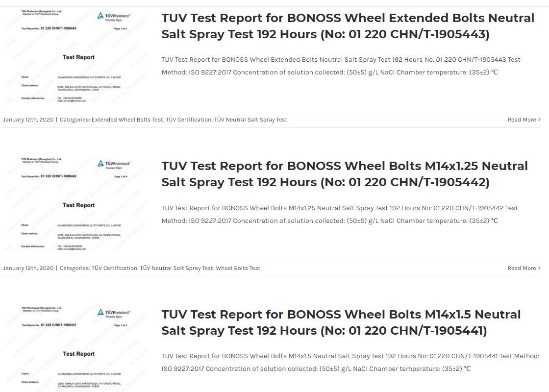 BONOSS Forged Grade 12.9 Wheel Bolts M14x1.5 for Audi S5 B9 (2017-) (7)