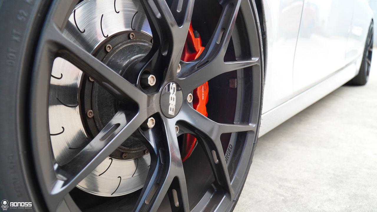 BONOSS Forged Titanium Lock Wheel Bolts 1100 Series for BMW 5 Series F10 (2010-2017) (4)