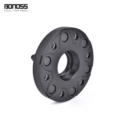 BONOSS-forged-active-cooling-25mm-wheel-spacer-for-MITSUBISHI-Pajero-V80V90-6x139.7-66.1-12x1.5-6061t6-by-grace-4