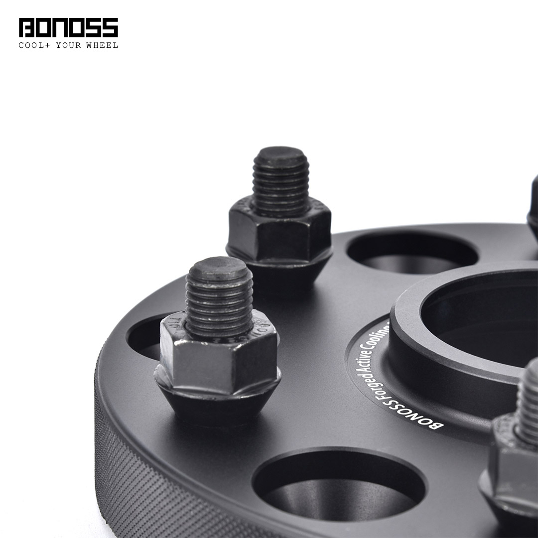 BONOSS-forged-active-cooling-25mm-wheel-spacer-for-MITSUBISHI-Pajero-V80V90-6x139.7-66.1-12x1.5-6061t6-by-grace-9