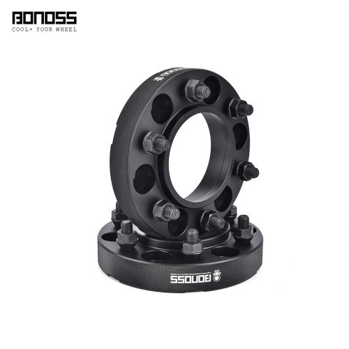 BONOSS-forged-active-cooling-GMC-Canyon-GMT355-30mm-wheel-spacer-6x139.7-100-12x1.5-6061t6-by-grace-1