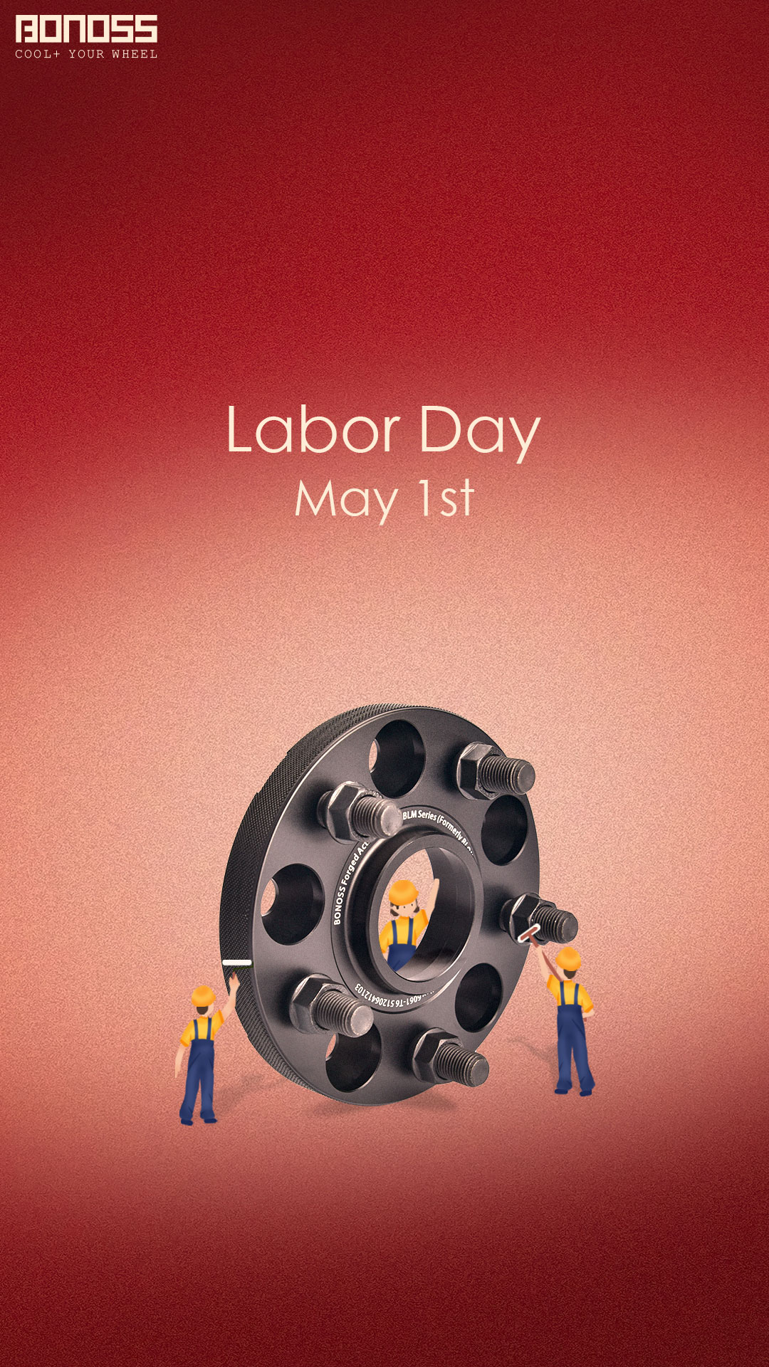 Happy Labor Day! Celebrate with BONOSS