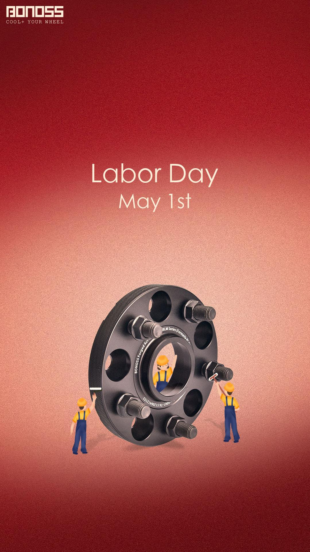 Happy Labor Day! Celebrate with BONOSS