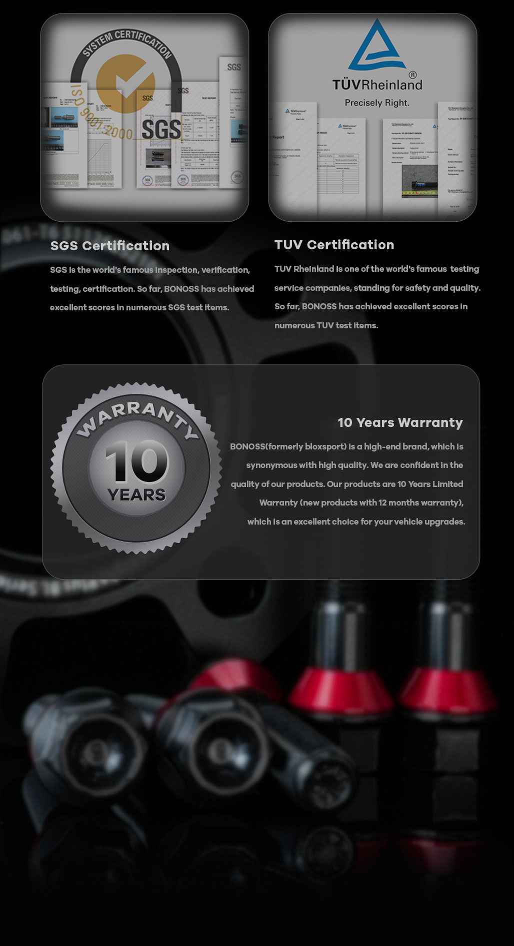 BONOSS Forged Lightweight Plus Hubcentric Wheel Spacers 5 Lug Wheel Adapters Wheel ET Spacers (7)