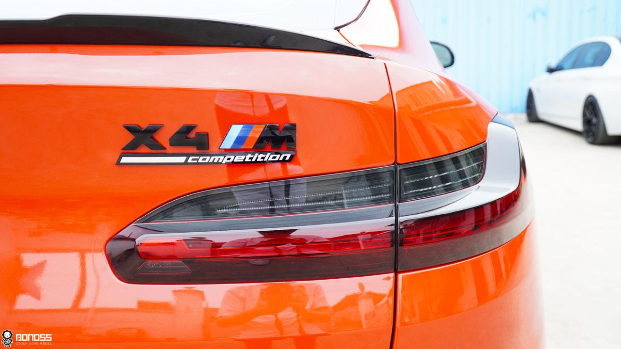 BONOSS Forged Titanium Lock Wheel Bolts 1100 Series install on BMW X4M (5)